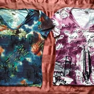 2 NY gard collection shirts